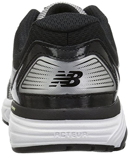 New Balance Men s 560v7 Cushioning Running Shoe, Silver Black, 13 4E US