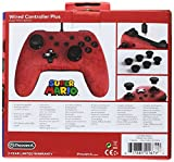 PowerA Wired Controller Plus - Super Mario - Nintendo Switch, Red