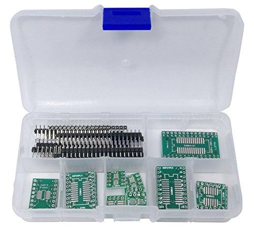 DIP SOP Adapter PCB Assortment SOP8 SOIC8 SSOP, DIP8, SOP14, SSOP14 - DIP, SOP16, SSOP16, SOP20, SSOP20, SOP24 SSOP24, SOP-28 SSOP-28