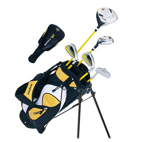Winfield Junior Force Kids Golf Clubs Set / Ages 5-8 Yellow / Left-Hand