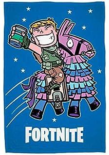 Epic Games Fortnite Fleece Blanket - couverture en Laine Polaire - coperta in Pile - Manta de Lana FTN-063B: Amazon.es: Hogar