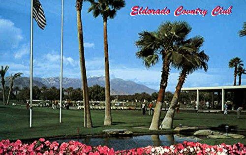 Eldorado Country Club Palm Desert  California Original Vintage Postcard