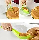 Fresh Lime Plastic Cake Cutter, Green
