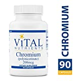 Cheap Vital Nutrients – Chromium (Polynicotinate) 200 mcg – Supports Fat, Cholesterol and Glucose Metabolism – 90 Capsules