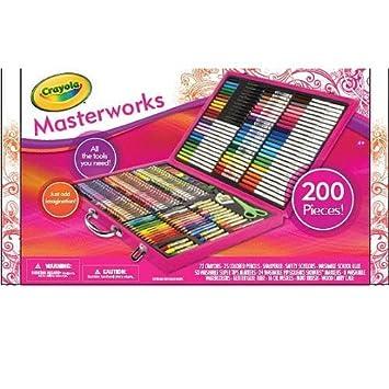 crayola 200 piece masterworks art case yo yos amazon canada