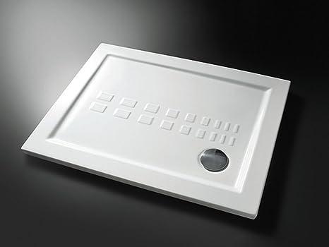 Piatto doccia rettangolare in ceramica bianca varie misure
