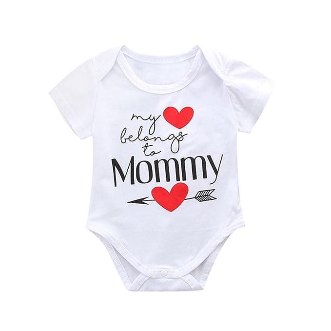 SHJIRsei Bebe Ropa Dia de la Madre Ropa para Recien Nacido Niña Niño ...