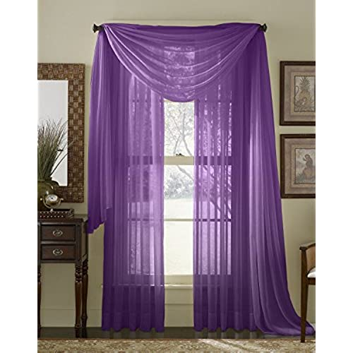 Purple And Gray And Turquoise Curtains: Amazon.com