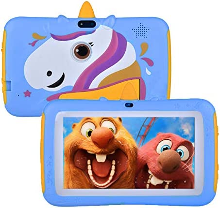 Tablet for Kids,7 inch Kids Tablet Android 9.0 Edition Tablet with WiFi and Bluetooth,GMS Certified, 2GB+16G with Parental Control