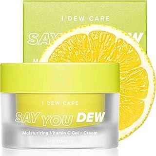 I DEW CARE Say You Dew | Moisturizing Vitamin C Gel + Cream | Korean Skincare, Face Moisturizer, Vegan, Cruelty-free, Paraben-free