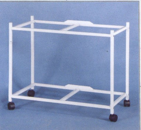 2-Shelf Stand for two of 24'' x 16'' x 16'' Breeding Flight Cages, White by Mcage