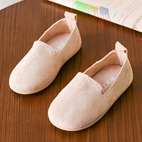 Clode® Baby Mode Kind Mädchen Normallack Beiläufige Einzelne Leder Prinzessin Shoes Beige