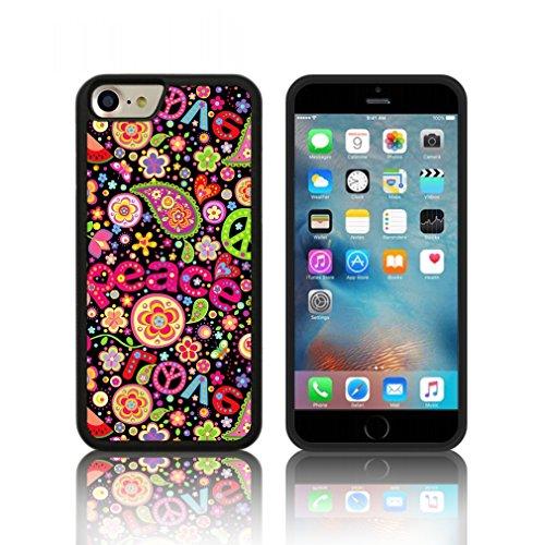 Coque ' Hippie ' Étui Housse Apple iPHONE 7 PLUS (5,5) en silicone TPU