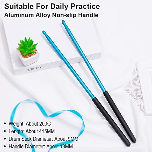 Practice Drum Stick - Metal Aluminum Drumsticks - Jazz Drum Sticks Color Stick For Drums Percussion Drum Accessories Parts