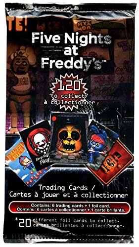 Five Nights at Freddy's Five Nights at Freddy's Trading Card Pack (20 Different Trading Cards)