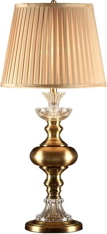 lampe bureau Lampe de table en cristal processus de placage