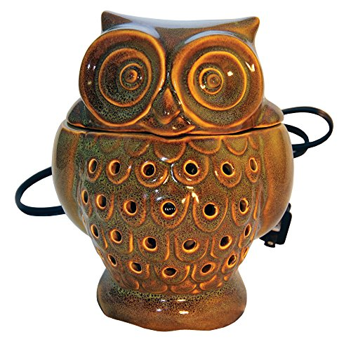 Cheerful Giver Green Owl Warmer