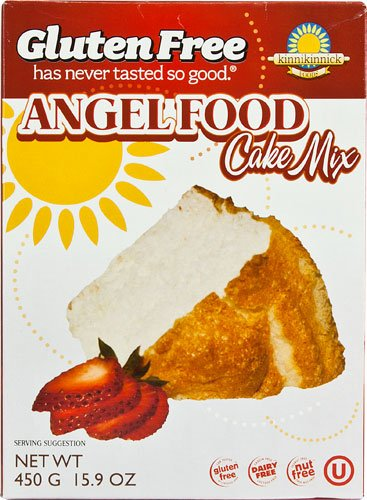 Kinnikinnick Foods Cake Mix Gluten Free Angel Food -- 16 oz - 2 pc