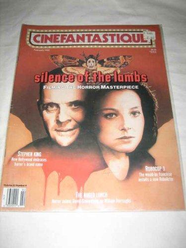Cinefantastique V 22 # 4 Feb 1992 Silence of the Lambs Stephen King Robocop 3