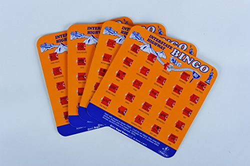 Regal Games Original Travel Bingo 4 Packs