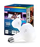 LIFX Smart LED Light Bulb, Wi-Fi, Color 1000 BR30, Multicolor, Dimmable, Works with Amazon Alexa