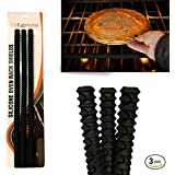FitFabHome 3 Pack Oven Rack Shields | SAFEST On The Market | 100% Certified BPA Free, FDA Approved | Heat Resistant...