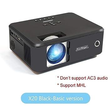 HD Mini proyector LED Full HD 1080P Video Beamer Cine en casa ...