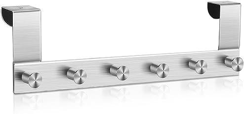 Stainless Steel Double S Shaped Storage Hooks Wall Door Back Hooks Towel Rack