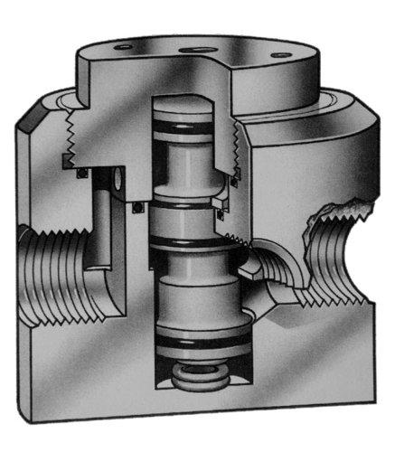 40-80 PSIG Actuating Pressure R-K DAV Series 1//2 PP Diverter Air Valve Normally Closed Vacuum-150PSIG FNPT
