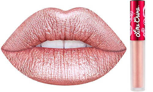 Lime Crime Metallic Velvetines Liquid Matte Lipstick - Blondie