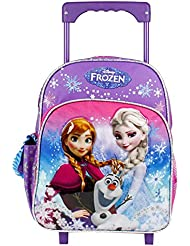 Disney Frozen Mini 12 Rolling Backpack(included X1 Frozen hair brush)