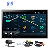 Eincar 10.1'' 2GB Android 7.1 Car Radio Stereo - Universal Double Din Head Unit with Adjustable Angle - Support Fast-boot, GPS Sat Nav, DAB+, 3G 4G WIFI, Phone Link, FM AM RDS, Steering Wheel Control,U
