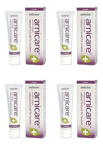 (4 PACK) - Nelsons Arnica Cream For Bruises | 50g | 4 PACK - SUPER SAVER - SAVE MONEY -