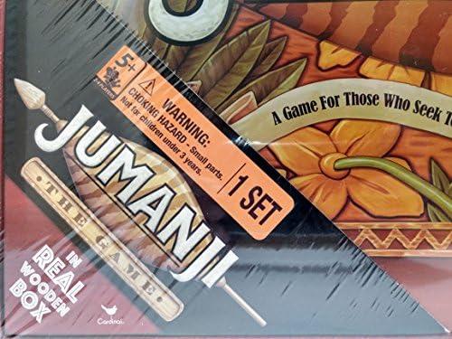 Jumanji The Game In Real Wooden Box Home Amazoncomau