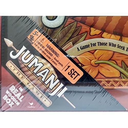 Good Jumanji The Game In Real Wooden Box Tonightatnooncom
