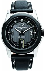 Jorg Gray Leather Charcoal Dial Men's watch #JG9400-24
