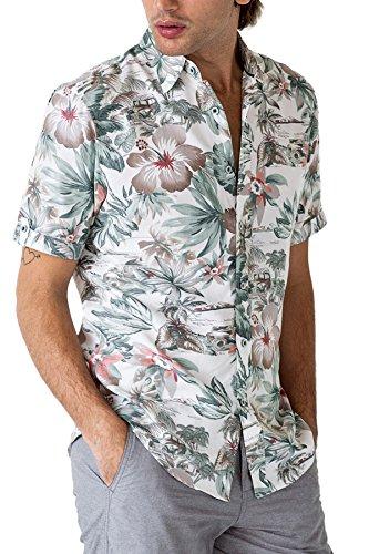 Paradise Hawaiian Shirt with Tropical Prints - Summer Essentials