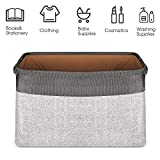 Storage Basket Bin Set [3-Pack], JOMARTO Large Cube