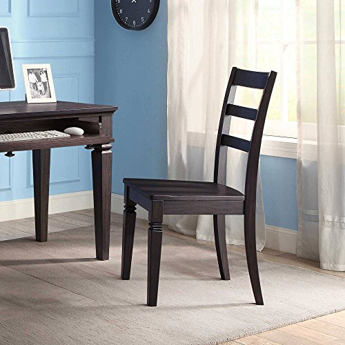 Kendal Desk Chair, Dark Grey Classic cottage design Blends w