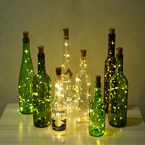 Amazon.com: Wine Bottle Lights with Cork, LED Bottle Lights, LED Cork Lights,  Copper Wire Bottle Lights, Bottle Cork String Lights for DIY, Party, Decor,  ... - Amazon.com: Wine Bottle Lights With Cork, LED Bottle Lights, LED