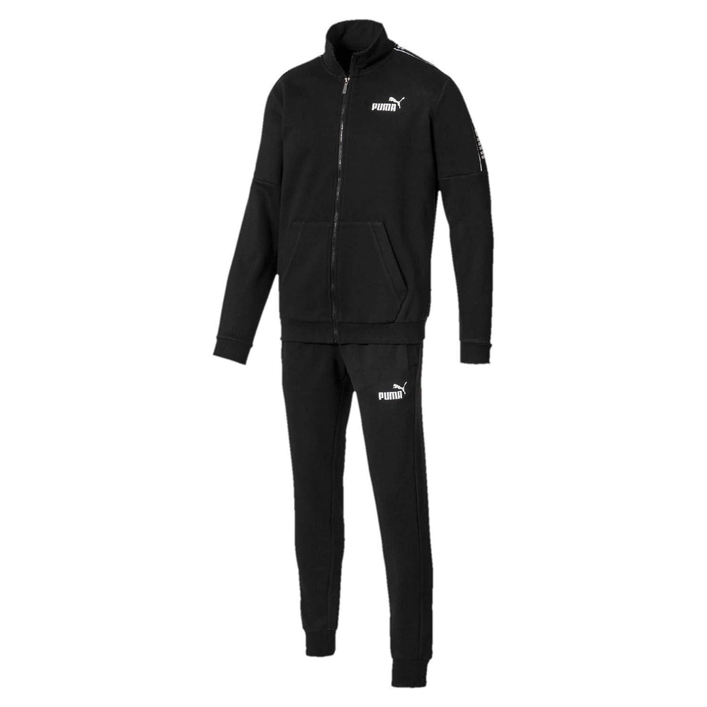 PUMA Amplified Sweat Suit Traje DE Entrenamiento para Hombre Negro ...