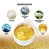 Natural Gold Gel Eye Mask, Collagen Anti-Aging