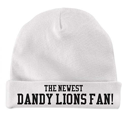 The Newest Dandy Lions Fan!:Infant Baby Hat