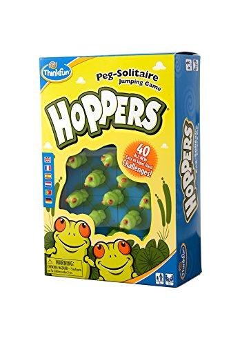 Think Fun 6703 Hoppers Solitaire product image