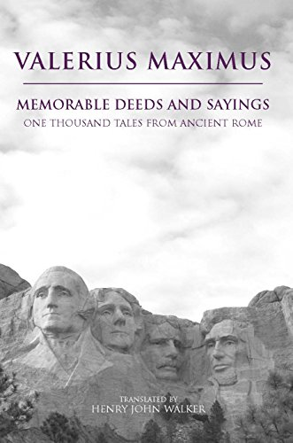 Memorable Deeds And Sayings  A Thousand Tales From Ancient Rome