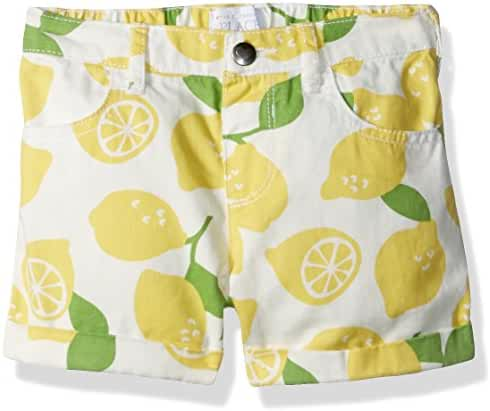The Children's Place Baby-Boys' Her Li'l Printed Roll-up Short