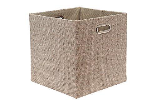 "Perber Storage Basket Foldable 12x12x12"" Cube Organizers ..."