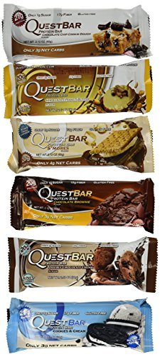 Quest Nutrition Bar Variety Bundle Chocolate Dessert, 12 Piece by Quest Nutrition (Quest Bars Dessert compare prices)