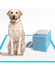 """IMMCUTE Dog Pee Pads Extra Large 28""""x34"""", X-Large Training Puppy Pee Pads Super Absorbent & Leak-Proof, XL Disposable Pet Piddle Pad and Potty Pads for Dogs, Puppies, Doggie"""