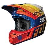 2018 Fox Racing V3 Draftr Helmet-Light Grey-L